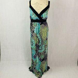 LANE BRYANT • Paisley Maxi Dress